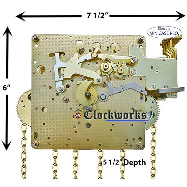 451-033 Hermle Clock Movement