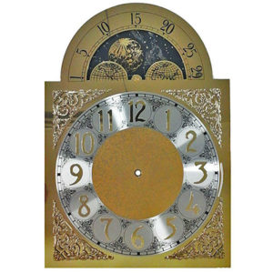 Hermle 451-050 clock moon dial