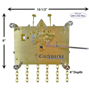 461-053 Hermle Clock Movement