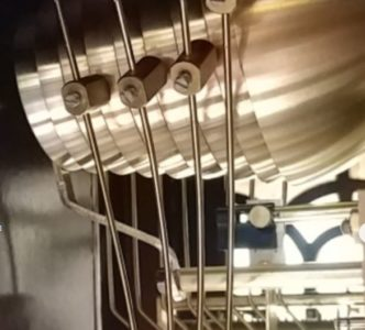 9 Kieninger Clock Nested Bells