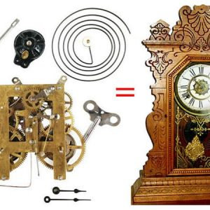 Antique Kitchen Clock Replacement Movement