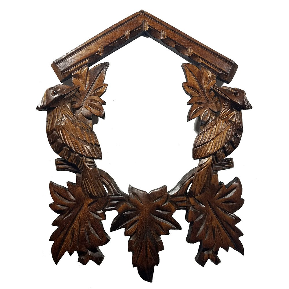Bird Lovers Wooden DIY Cuckoo Clock Front Plate