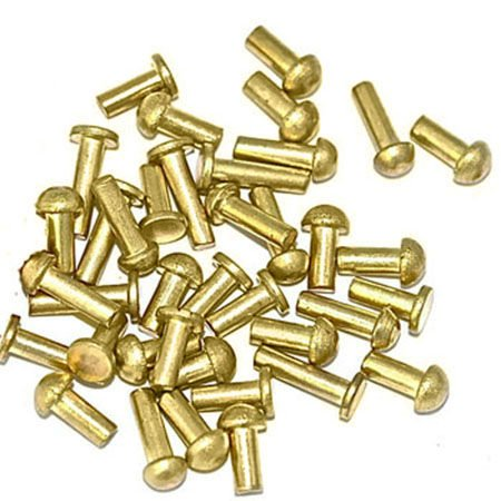Brass Clock Rivets for Clock Repair