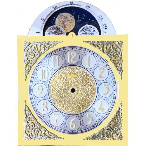 1151-053 Grandmother Clock Moon-Dial