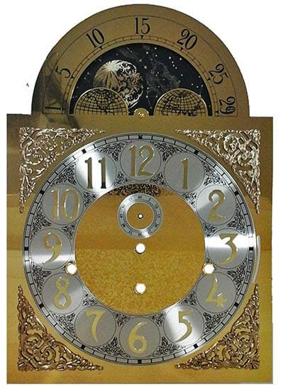 1161-850 Grandfather Clock Dial