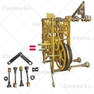 Clock Repair Movement Assembley Post Set