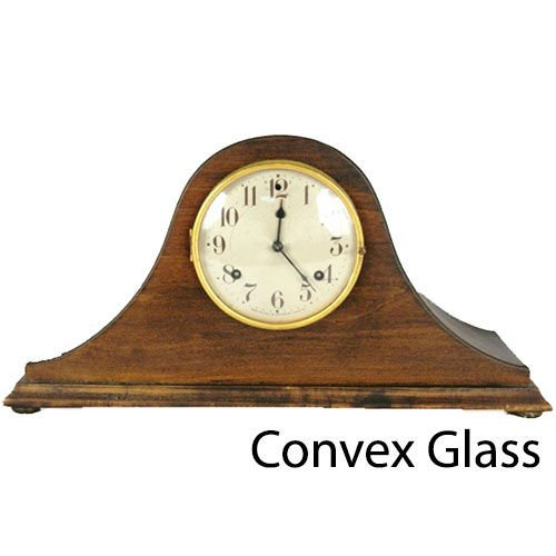 Convex Round Clock Glass