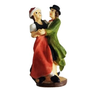 Cuckoo Clock Dancer Figurine Couple