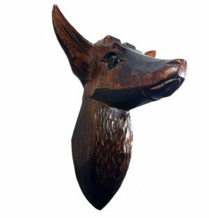 Cuckoo Clock Deer-Head Decoration