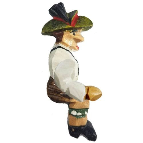 Cuckoo Clock Wood-Cutter Figurine