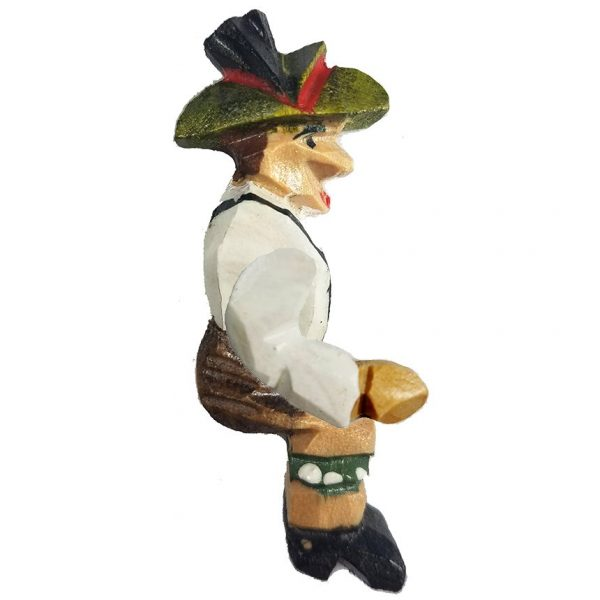 Cuckoo Clock Figurine the Wood Cutter
