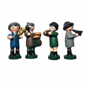 Cuckoo Clock Oompah Band Four Figurines