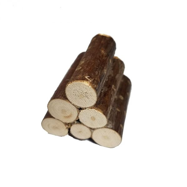 Cuckoo Clock Stack of Logs Decoration