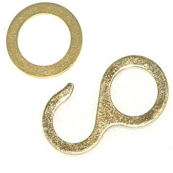 Cuckoo Hook and Ring for Chain