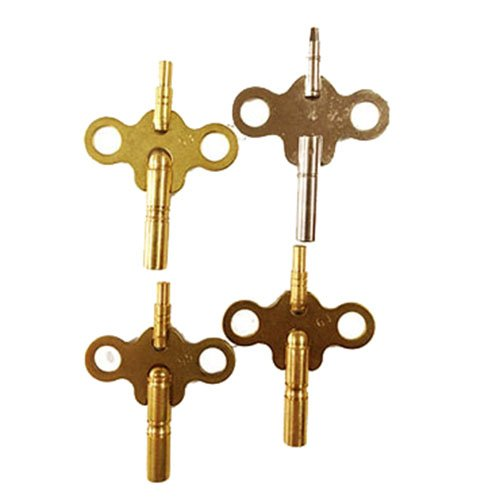 Double Ended Clock Key 4pk