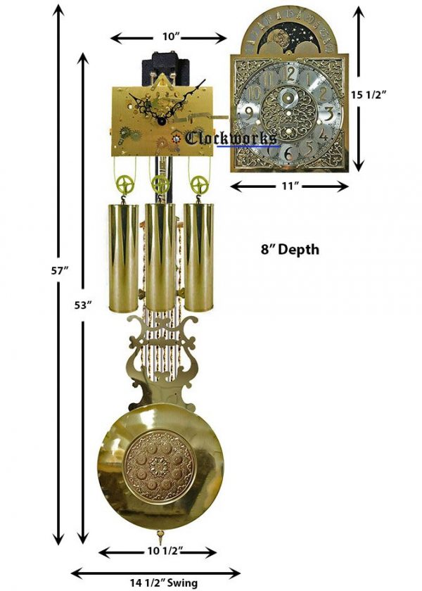 Kieninger Grandfather Clock Kit GFKIT03