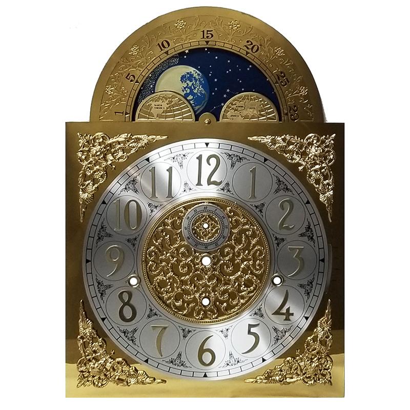 2 METAL CLOCK FEET  NEW MANTEL CLOCK PARTS