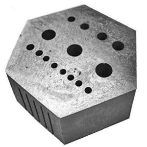 Hexagonal Staking Block