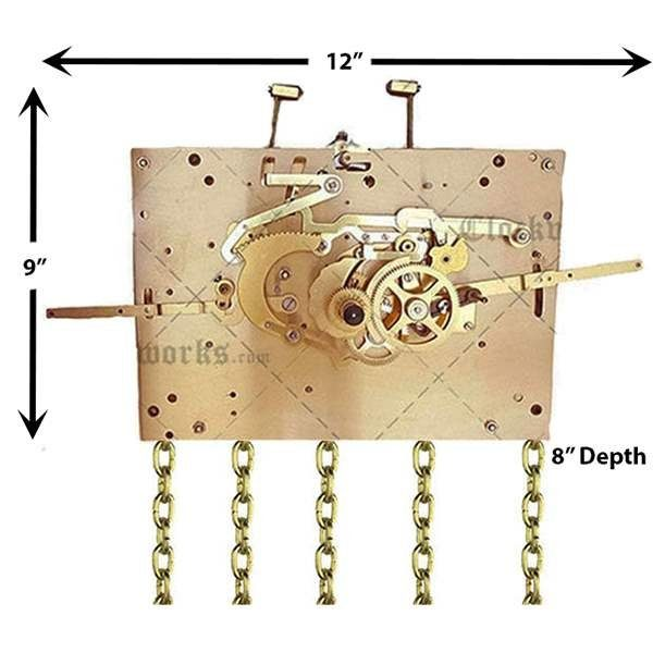 Jauch PL110 Clock Movement Kit