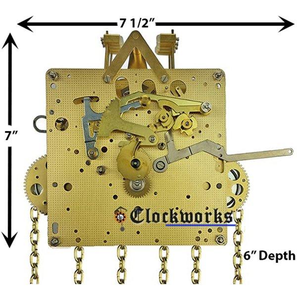 Jauch PL61 Clock Movement Kit