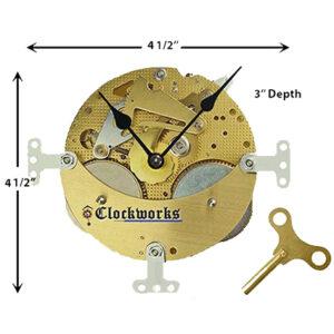 German Mechanical Mantle Clock-Kit