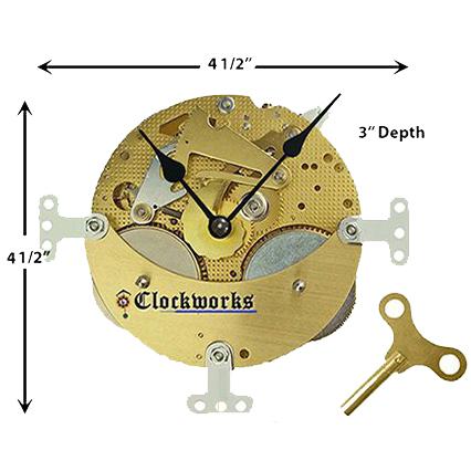 Hermle mantle clock kit clockworks.com