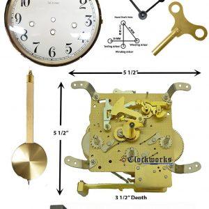 Mechanical Wall Clock Kit WMKIT24