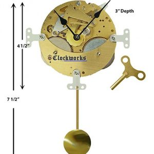 Mechanical Wall or Mantle Clock Kit WMKIT105