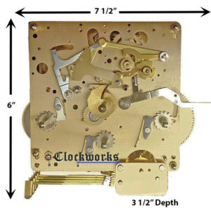 NEW 1050-021 Clock Movement by Hermle