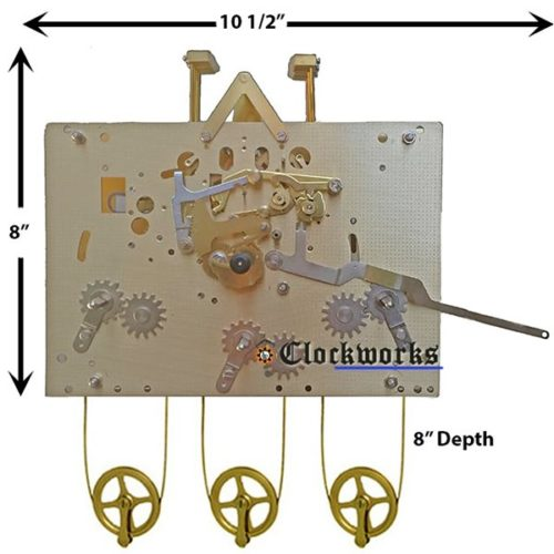 NEW 1161-850 94cm Clock Movement by Hermle