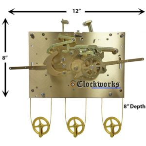 1171-850 Hermle Clock Movement