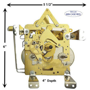 141-031 Hermle Clock Movement