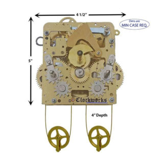 241-840 Hermle Clock Movement