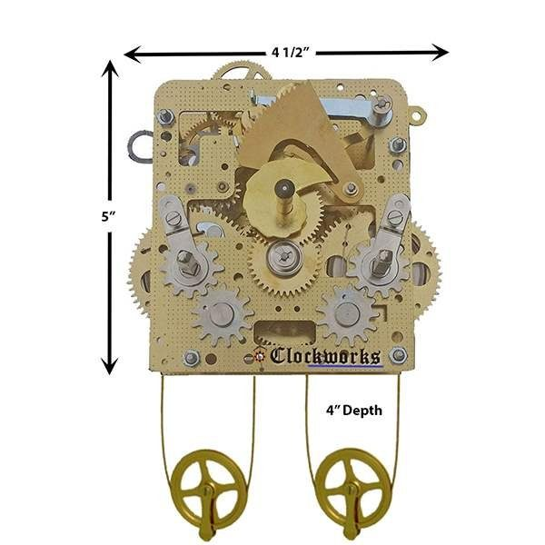NEW 241-843 Clock Movement by Hermle