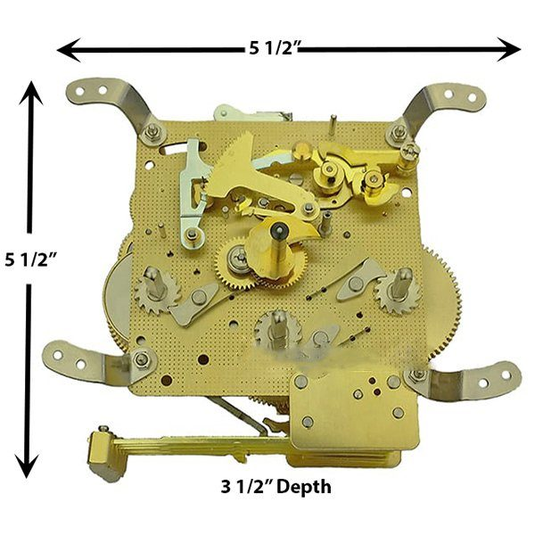 NEW 350-020 Clock Movement by Hermle