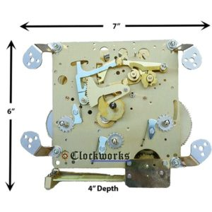 NEW 351-021 Clock Movement by Hermle