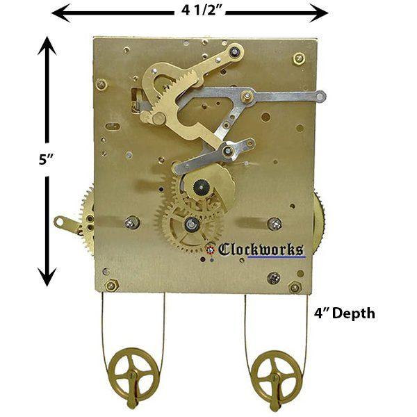 NEW PS Series Bim Bam Kieninger Clock Movement