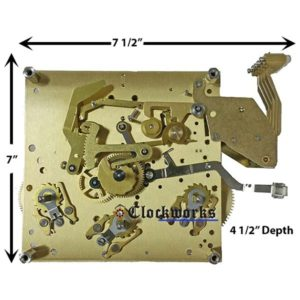 NEW SPS Series Kieninger Clock Movement
