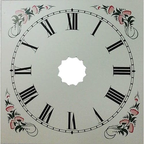 OGee Style Square Clock Dial