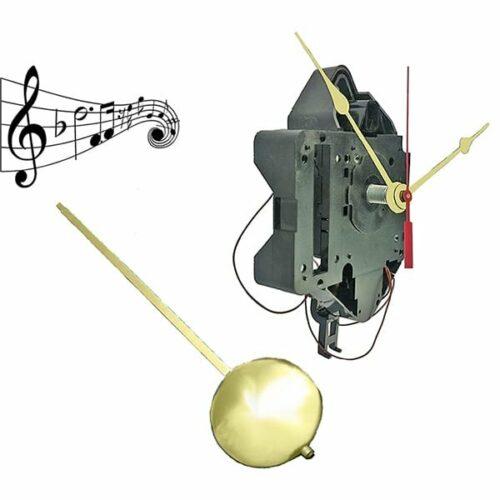 #QU30 Seiko Chime Pendulum Clock Movement