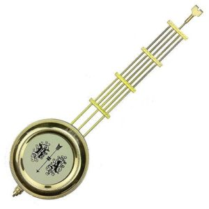 R and A Style Wall Clock Pendulum