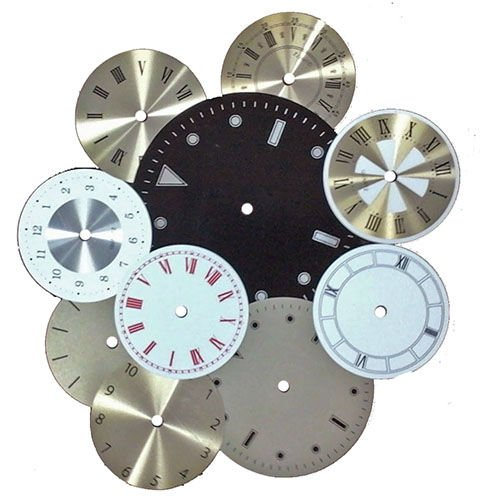 Round Clock Dial Assortment