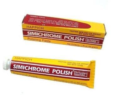 Simachrome polish for Clock Repair