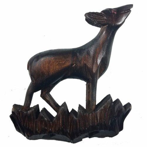 Cuckoo-Clock Deer Front Decoration