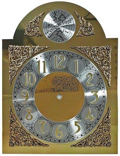 Tempus Fugit Style Clock Dial