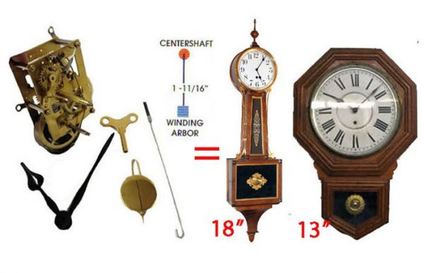 Time Only Mechanical Clock Kit