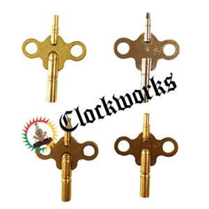 Double Ended Clock Key 4pk