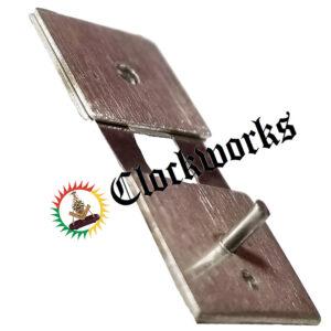 Mechanical clock suspension spring