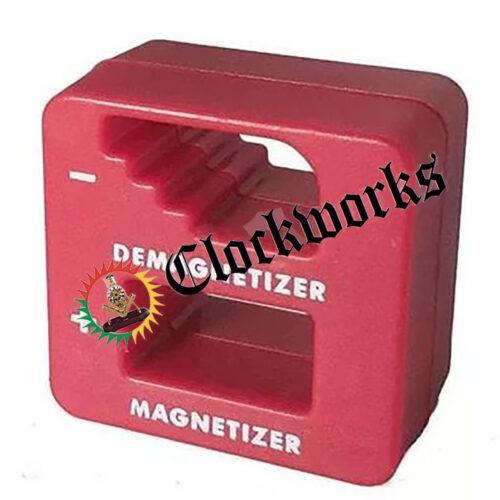 Clock Repair Tool and Part Magnetizer and Demagnetizer