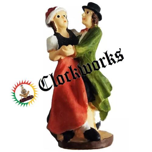 Cuckoo Clock Figurine Dancers
